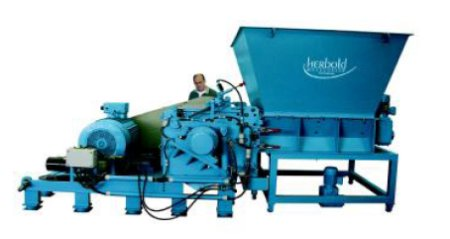 Schneidmuehle Zwangsbeschickung - HERBOLD SB series granulator with force feeding device
