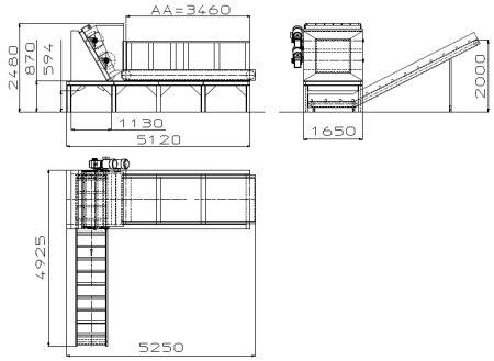 Ballenaufloeser Herbold Aufstellung - HERBOLD Ballenauflöser BA 63-130-2