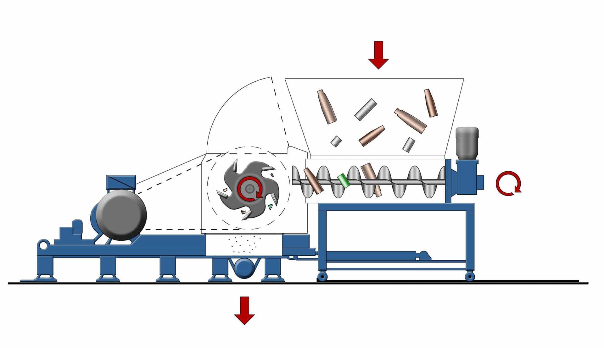 SML-60-145-SB Schemazeichnung | Herbold Meckesheim