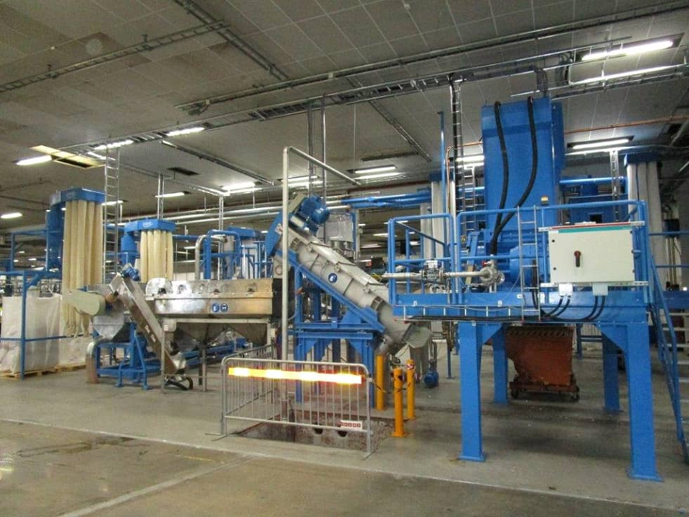 HERBOLD Hartkunststoffanlage 1 - RODEPA is extending the capacity of their washing lines