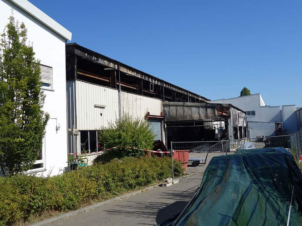 Brandfall Herbold Meckesheim 03 - Fire at Herbold Meckesheim GmbH