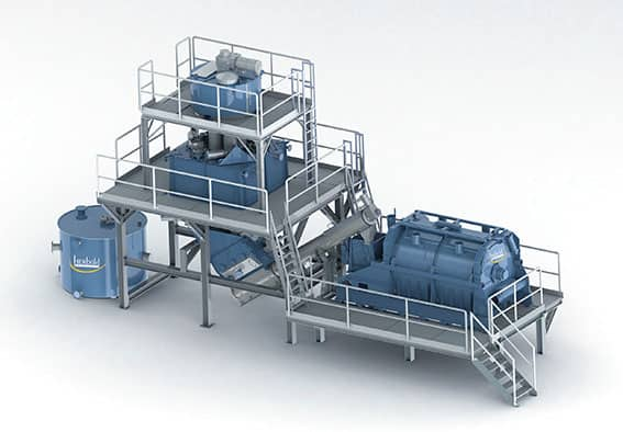 Heisswaesche Herbold Meckesheim - The key to high volume application of high quality recyclates