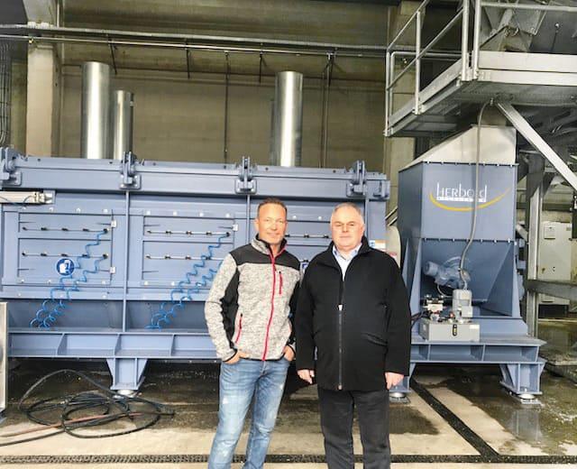 Schneeberger Walter Austria KH Herbold Meckesheim 01 - WKR Walter Österreich: Inbetriebnahme einer weiteren HERBOLD-Folienwaschanlage