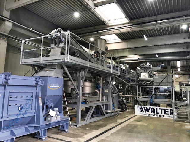 Walter film wash line Herbold Meckesheim 01 - WKR Walter Österreich: Inbetriebnahme einer weiteren HERBOLD-Folienwaschanlage