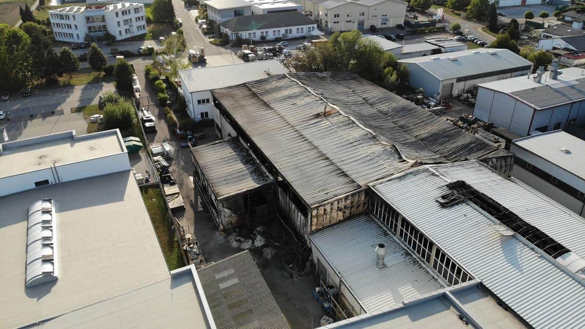 Nach Brand Herbold Meckesheim 2018 1200x674 - HERBOLD Meckesheim has just started rebuilding the site destroyed by the devastating blaze