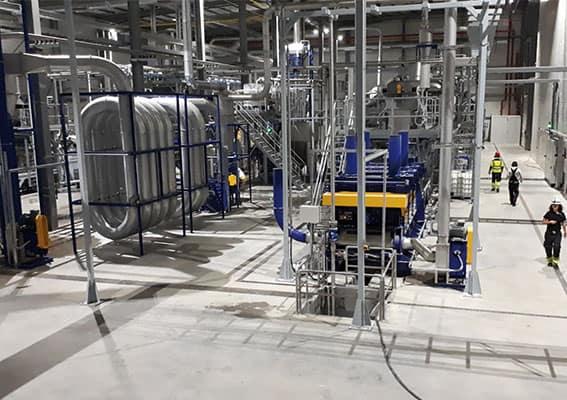 Folienwaschanlage Heißwaesche Herbold Meckesheim - Effizienz und Qualität im Kunststoff-Recycling