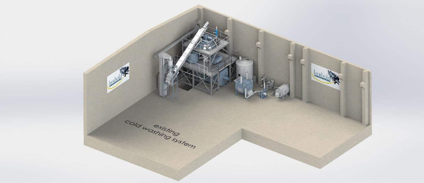 herbold meckesheim neue heisswaesche - New hot washing system at HERBOLD's test centre
