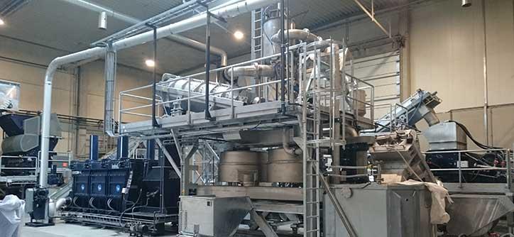 Waschanlage Gebraucht Herbold Waschanlage 02 - Washing line