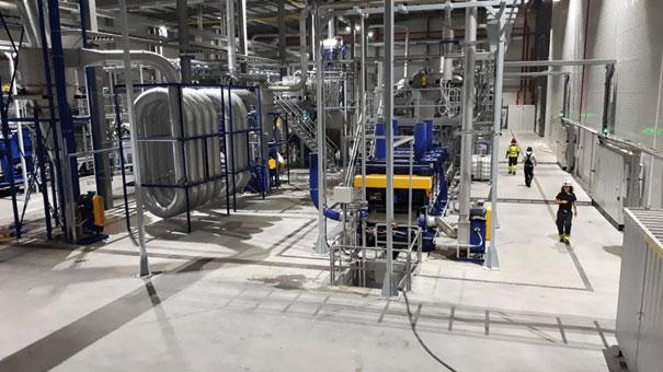 herbold meckesheim moderne folienwaschanlage mit heisswaesche - Kunststoff Recyclinglösungen von HERBOLD Meckesheim